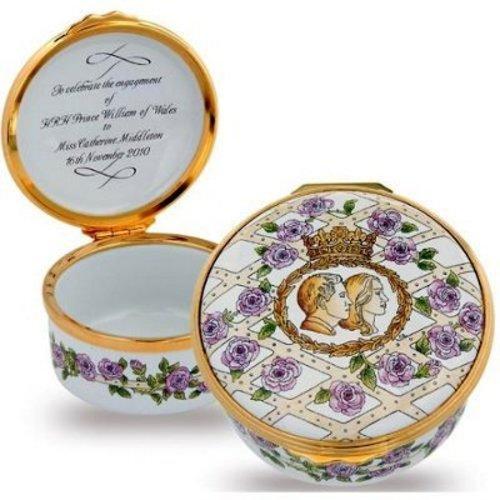 Halcyon Days Halcyon Days Royal Engagement Enamel Box