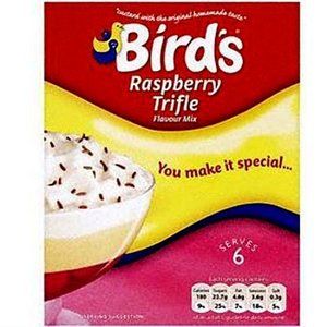 Bird's Raspberry Trifle Flavour Mix