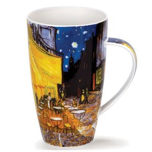 Dunoon Henley Impressionists Cafe Terrace At Night Mug