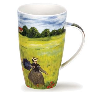 Dunoon Dunoon Henley Impressionists Mug - Poppy Field