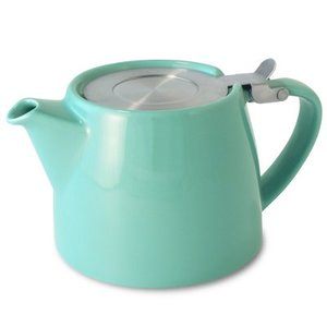 Forlife Forlife  Stump Teapot - Turquoise