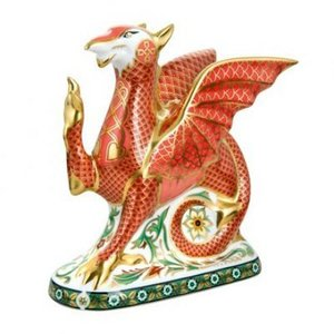 Royal Crown Derby Royal Crown Derby Welsh Dragon - Limited Edition