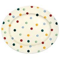Polka Dot Medium Platter
