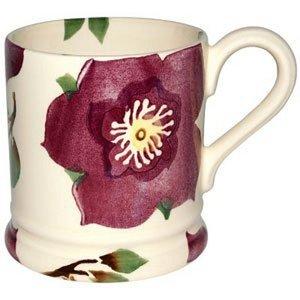 Emma Bridgewater 1/2 Pint Flowers Mug - Hellebore