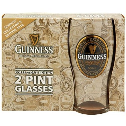 Guinness Guinness Collector's Edition Pint Glass - 2 Pack