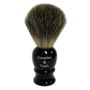 Crowley & Tosh Crowley & Tosh Mixed Badger Shaving Brush - Imitation Ebony