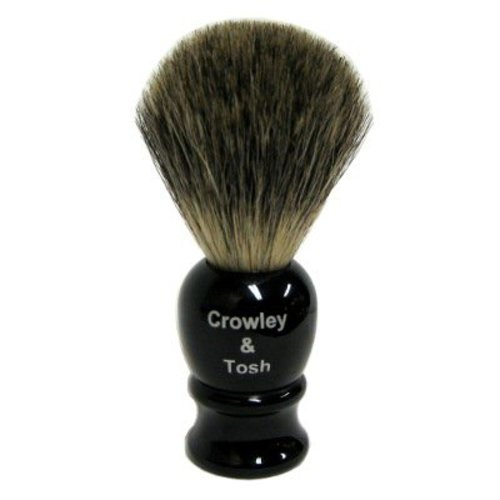 Crowley & Tosh Mb15k Crowley & Tosh Pure Mixed Badger Shaving Brush - Imitation Ebony