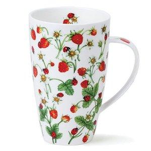 Dunoon Henley Dovedale Strawberries Mug