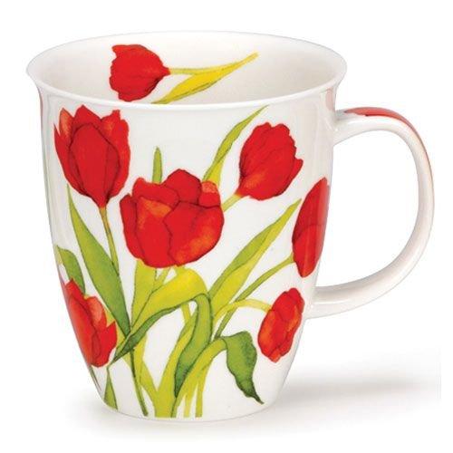 Dunoon Nevis Flora Tulips Mug