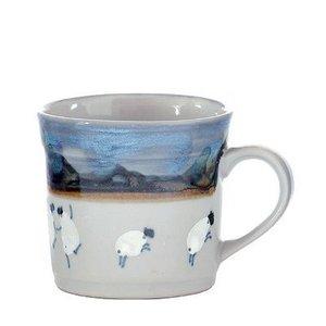 Highland Stoneware Highland Stoneware Sheep Half Pint Mug