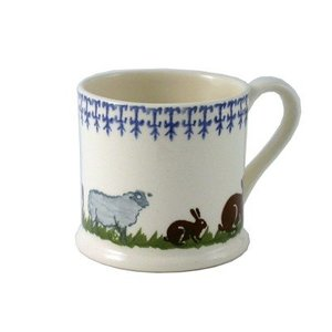 Brixton Pottery Brixton Farm Animals Mug - Large