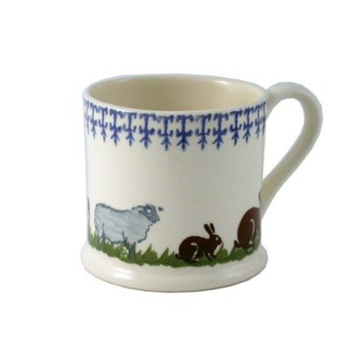 Brixton Pottery Farm Animals Mug - Large