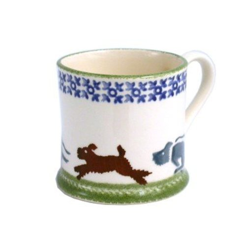 Brixton Pottery Scottie Chasing Mug - Large