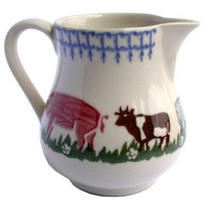 Brixton Pottery Farm Animals Jug - Medium