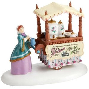 Dickens Village Dickens Village Series - Chelsea Market Tea Monger