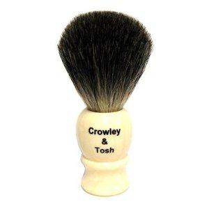 Crowley & Tosh Crowley & Tosh Pure Badger Shaving Brush - Imitation Ivory