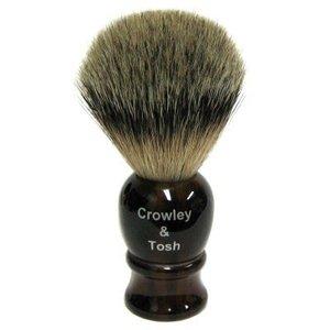 Crowley & Tosh Crowley & Tosh Best Badger Shaving Brush - Imitation Tortoise Shell