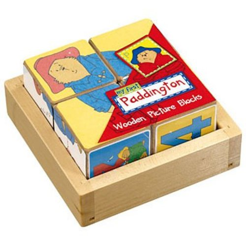 Paddington Bear My First Paddington Wooden Picture Blocks