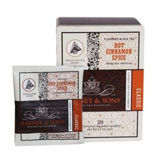 Harney & Sons Harney & Sons Hot Cinnamon Spice Box of 20 Wrapped Sachets