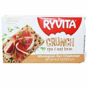 Ryvita Rye and Oat Bran Crackers