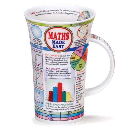 Dunoon Dunoon Glencoe Maths Made Easy Mug
