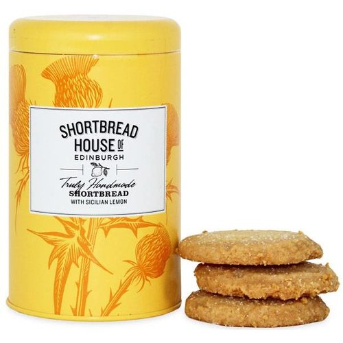 Shortbread House of Edinburgh Shortbread House of Edinburgh Biscuit Tin - Sicilian Lemon