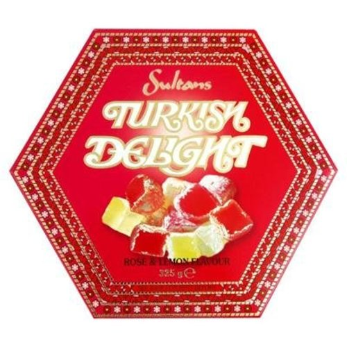 Sultans Sultans Rose and Lemon Turkish Delight