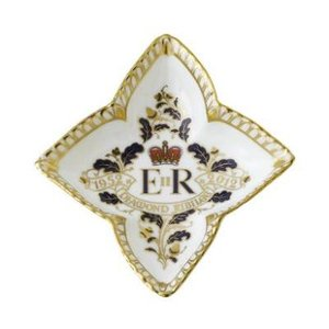 Royal Crown Derby Diamond Jubilee Tray