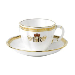 Royal Crown Derby Royal Crown Derby Jubilee Teacup and Saucer