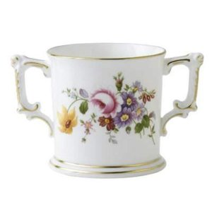 Royal Crown Derby Jubilee Posie Loving Cup