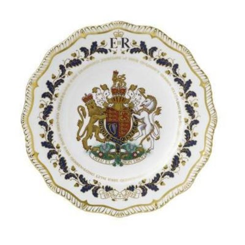 Royal Crown Derby Jubilee Limited Edition Gadroon Plate