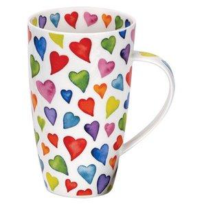 Dunoon Henley Warm Hearts Mug