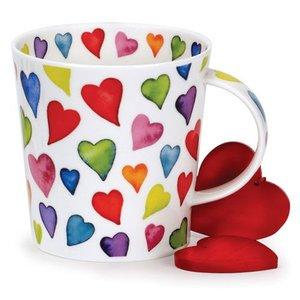 Dunoon Cairngorm Warm Hearts Mug
