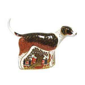Royal Crown Derby Fox Hound - Retired