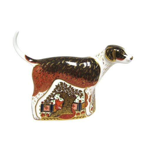 Royal Crown Derby Royal Crown Derby Fox Hound - Retired