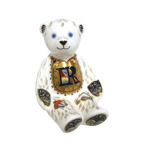 Royal Crown Derby ABC Teddy (R) - Retired