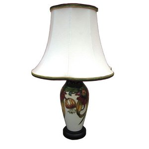 Moorcroft Pottery Moorcroft Anna Lily Lamp with Shade