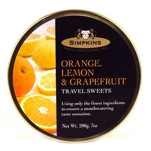 Simpkins Simpkins Orange, Lemon and Grapefruit Travel Sweets