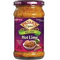 Patak's Hot Lime Relish/Pickle