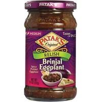 Patak's Brinjal Egg Plant Relish/Pickle