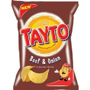 Tayto N.I. Tayto N.I. Beef and Onion Crisps
