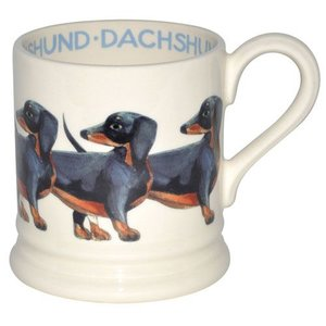 Emma Bridgewater Bridgewater 1/2 Pint Dogs Mug - Dachshund