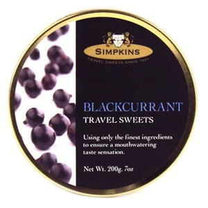 Simpkins Simpkins Blackcurrant Travel Sweets