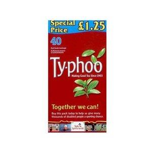 Typhoo Typhoo 40's