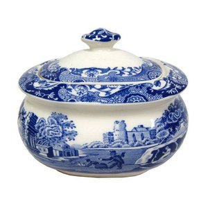 Spode Spode Blue Italian Covered Sugar