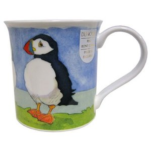 Dunoon Bute Sea Birds Puffin Mug