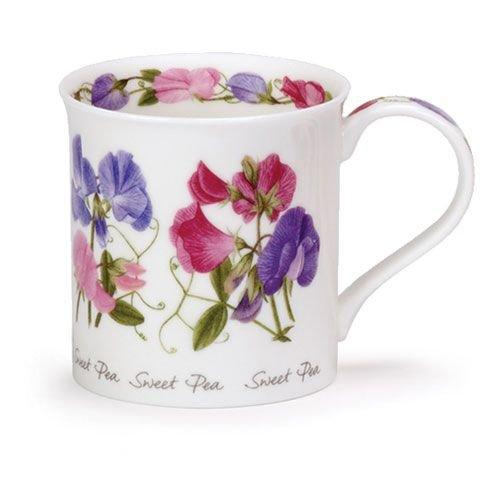 Dunoon Dunoon Bute Summer Flowers Mug - Sweet Pea