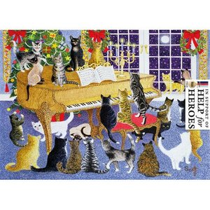 Museums & Galleries Christmas Cats Cards