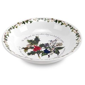 Portmeirion Holly & Ivy Pasta Serving Bowl