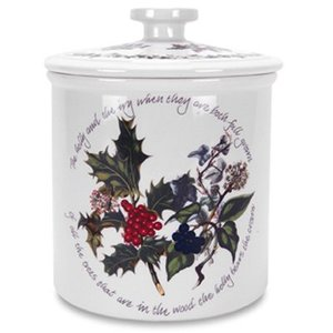 Portmeirion Holly & Ivy Storage Crock